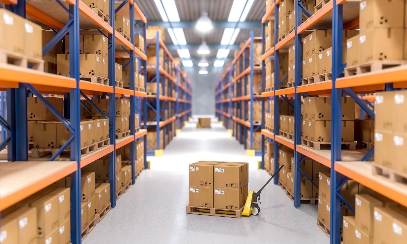 warehouse indoor view